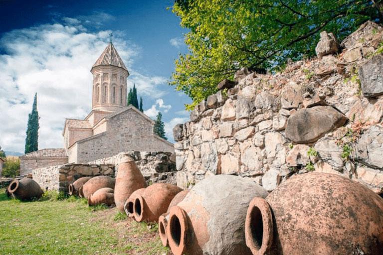Вино – национальная гордость Грузии.