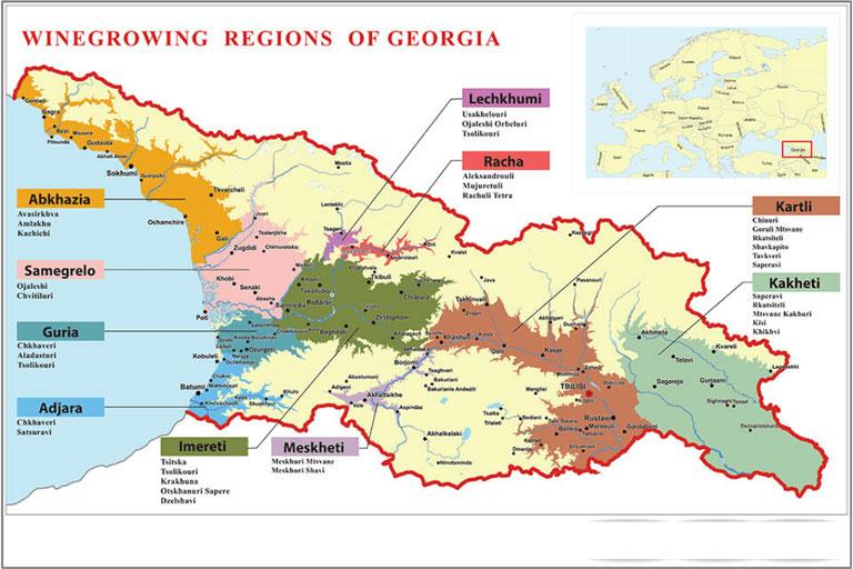 Вино – национальная гордость Грузии. — Экспертные советы и обзоры недвижимости на GEOLN.COM. Фото 2